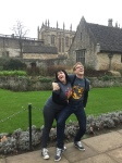 Harry Potter Nerds heading to the Great Hall in Oxford