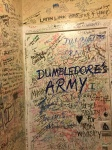 Elephant House Cafe toilet, J.K. Rowling wrote the first four book here, Edinburgh