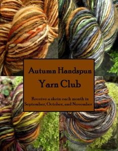 Autumn handspun club